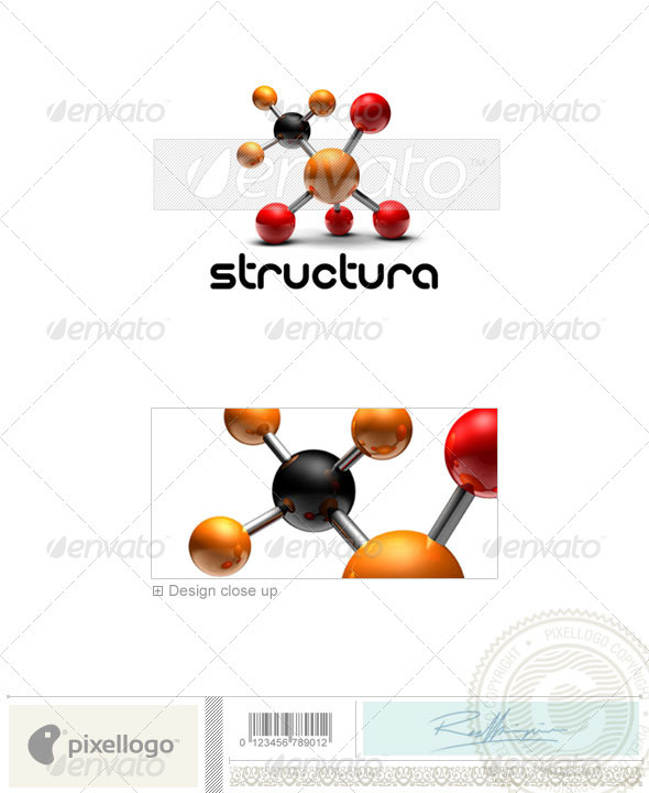 Industry & Science Logo - 3D-170 - 3d Abstract