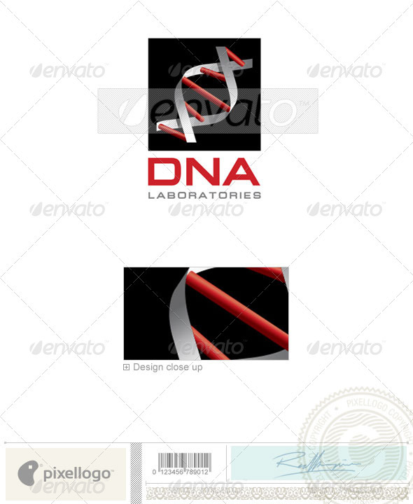 Industry & Science Logo - 1464 - Nature Logo Templates