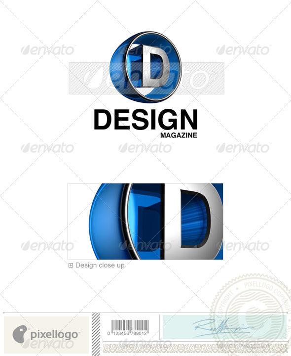 D Logo - 3D-438-D - Letters Logo Templates