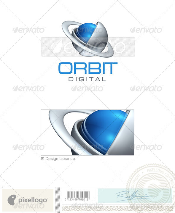 Communications Logo - 3D-389 - 3d Abstract