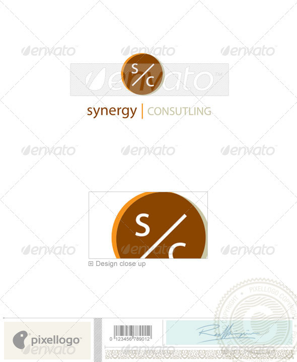 Business & Finance Logo - 2084 - Vector Abstract