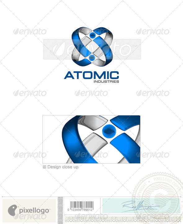 Technology Logo - 3D-129 - 3d Abstract