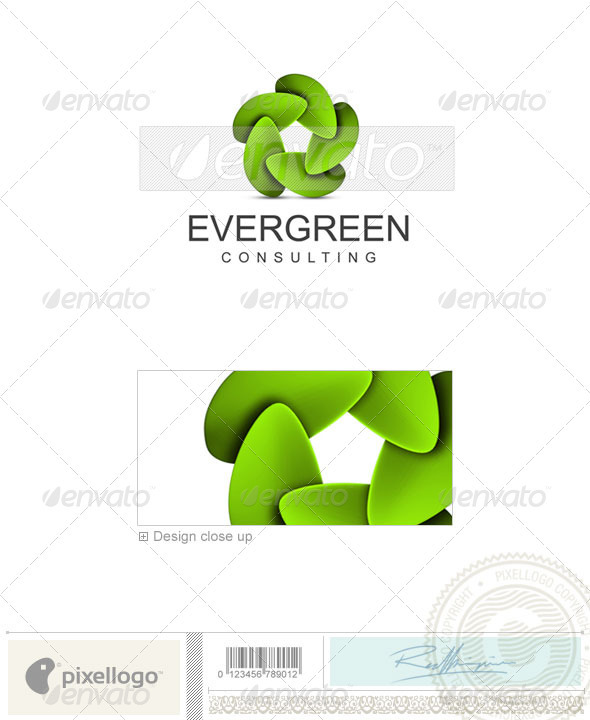 Nature & Animals Logo - 3D-315 - Nature Logo Templates
