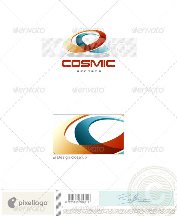 Communications Logo - 1180 - Objects Logo Templates
