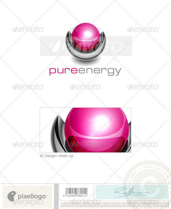 Technology Logo - 3D-448 - 3d Abstract