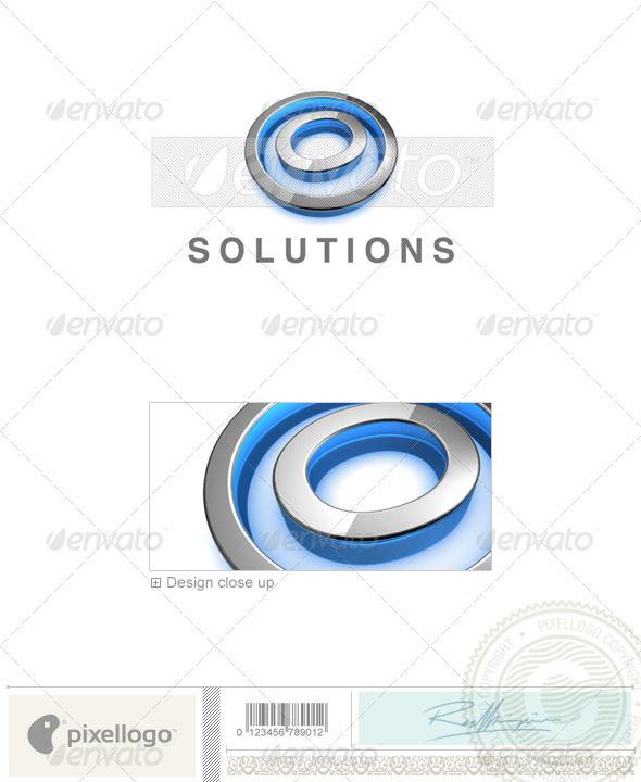 O Logo - 3D-683-O - Letters Logo Templates