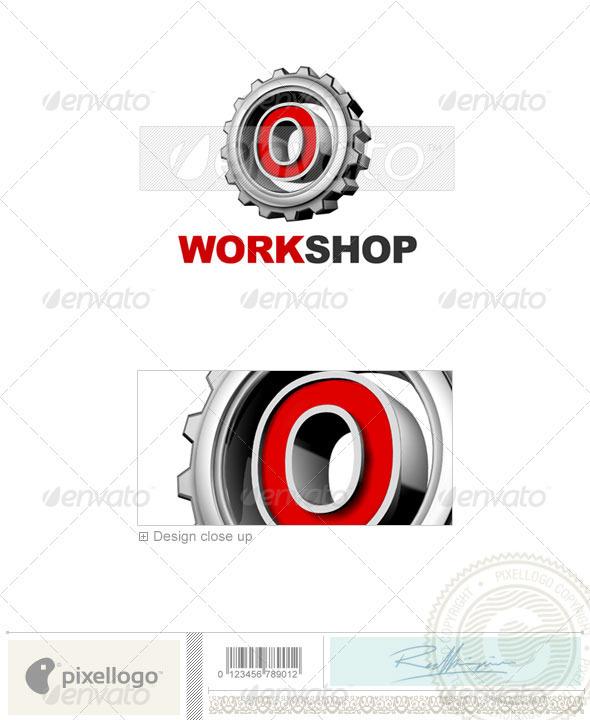 O Logo - 3D-292-O - Letters Logo Templates
