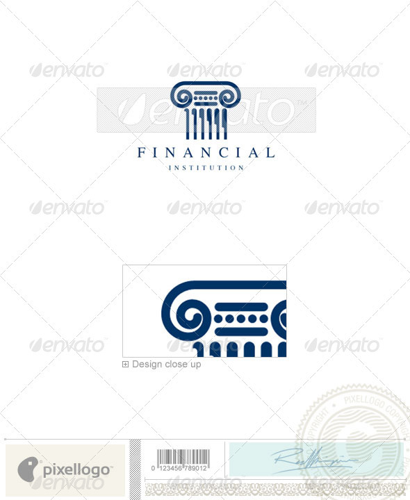 Business & Finance Logo - 605 - Buildings Logo Templates