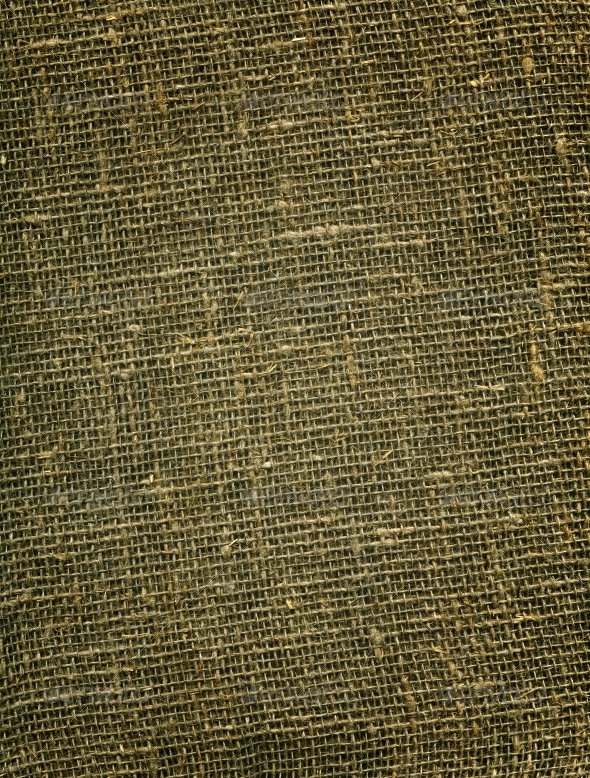 Burlap background - Fabric Textures