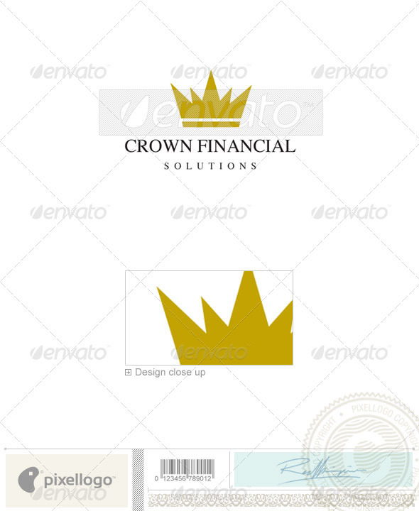 Business & Finance Logo - 326 - Objects Logo Templates