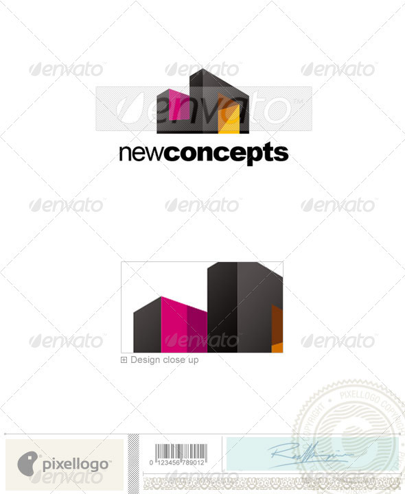 Home & Office Logo - 2210 - Buildings Logo Templates