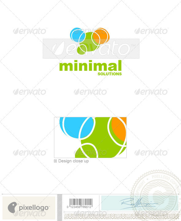 Print & Design Logo - 1401 - Vector Abstract
