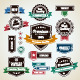 Set of Vintage Badges - GraphicRiver Item for Sale