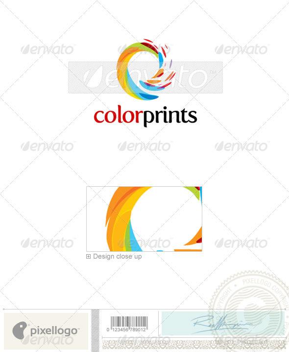 Print & Design Logo - 1882 - Vector Abstract