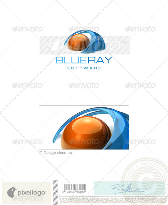 Communications Logo - 3D-240 - 3d Abstract