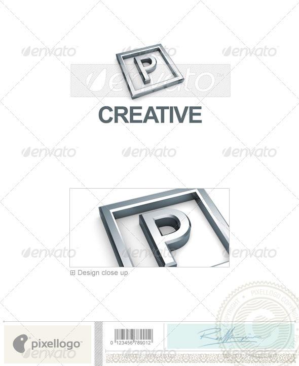 P Logo - 3D-295-P - Letters Logo Templates
