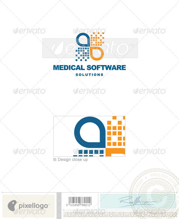 Industry & Science Logo - 611 - Vector Abstract