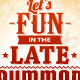 Summer Typography - GraphicRiver Item for Sale