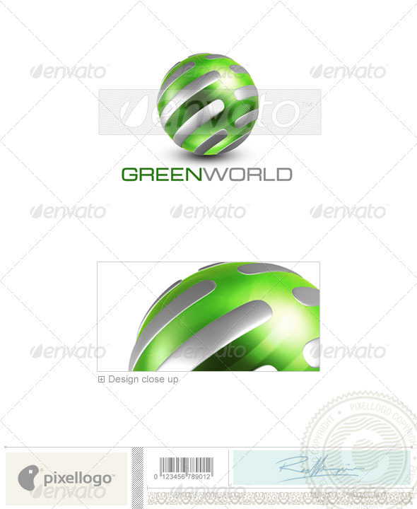 Communications Logo - 3D-483 - 3d Abstract