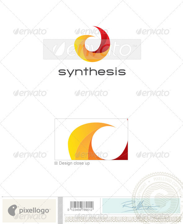 Print & Design Logo - 2251 - Vector Abstract