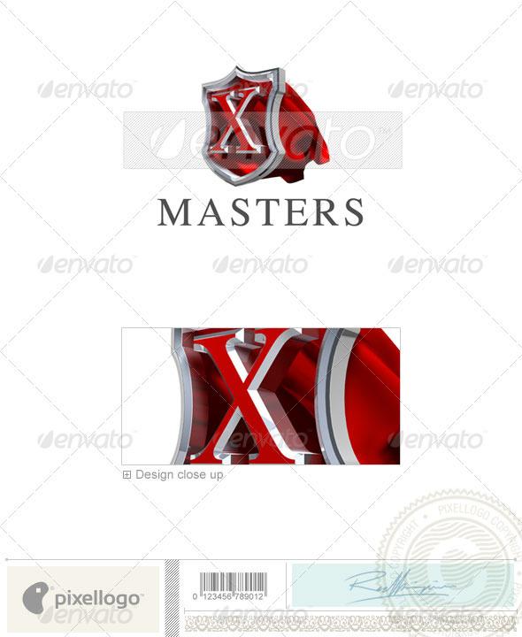 X Logo - 3D-259-X - Letters Logo Templates