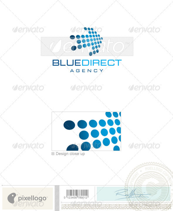 Business & Finance Logo - 1608 - Vector Abstract