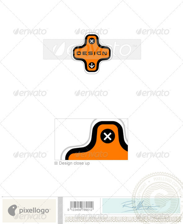 Technology Logo - 694 - Objects Logo Templates