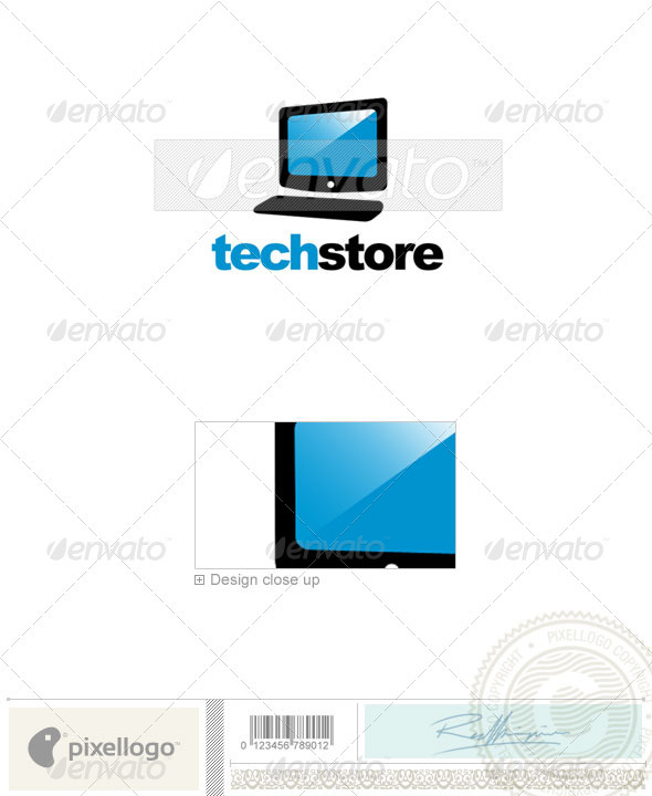 Technology Logo - 293 - Objects Logo Templates
