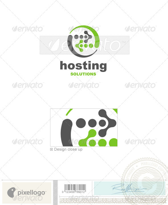 Technology Logo - 67 - Vector Abstract