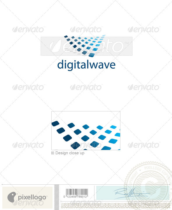 Technology Logo - 2083 - Vector Abstract
