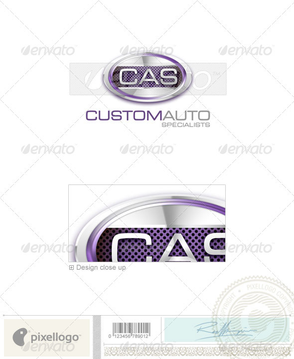 Transport Logo - 3D-481 - 3d Abstract