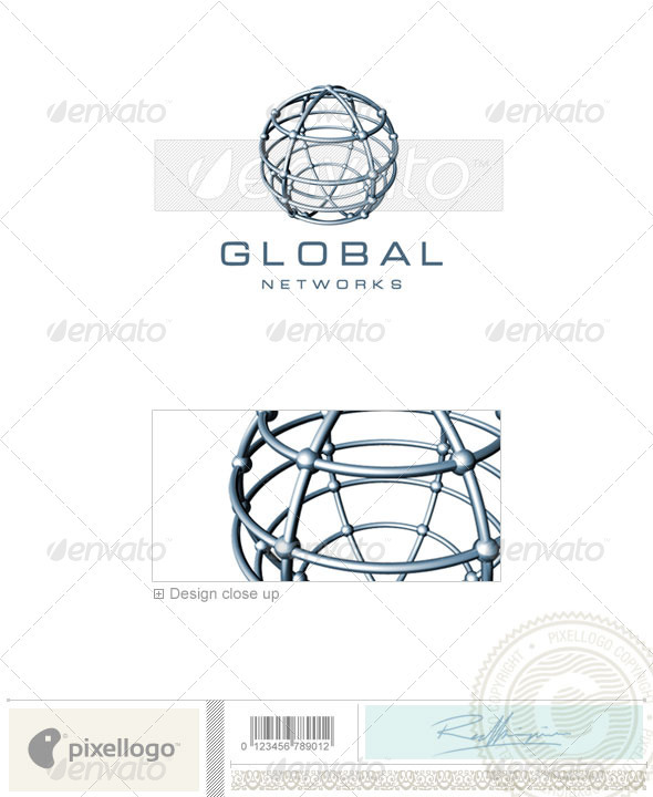 Communications Logo - 3D-234 - 3d Abstract