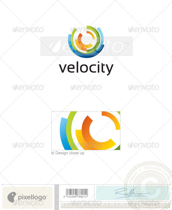 Abstract Logo - 2187 - Vector Abstract