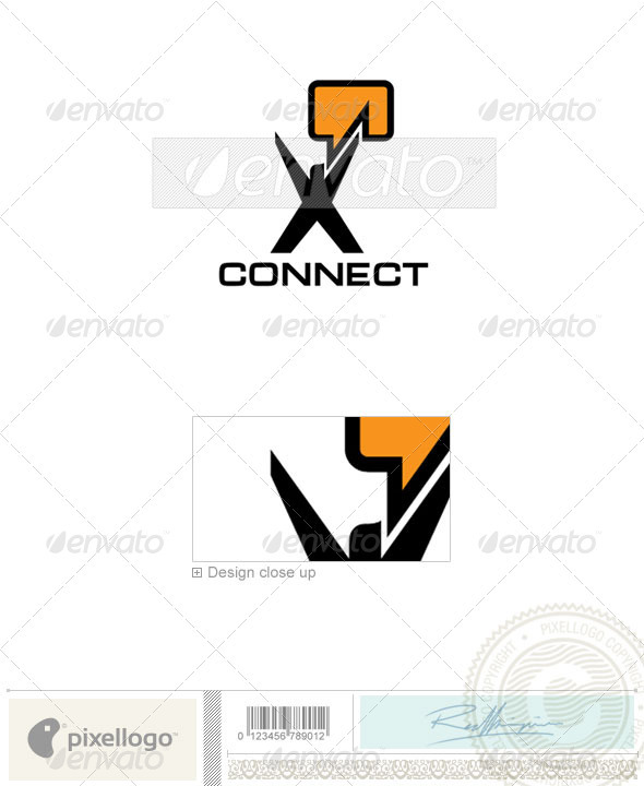 Communications Logo - 979 - Humans Logo Templates