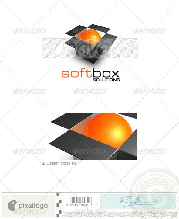 Technology Logo - 3D-154 - 3d Abstract