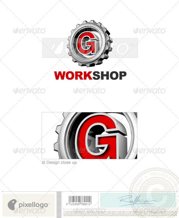 G Logo - 3D-292-G - Letters Logo Templates