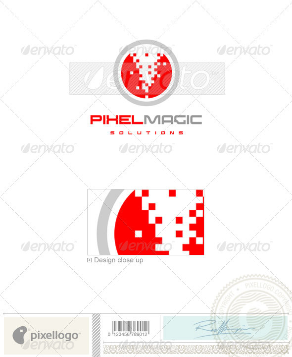 Print & Design Logo - 481 - Vector Abstract