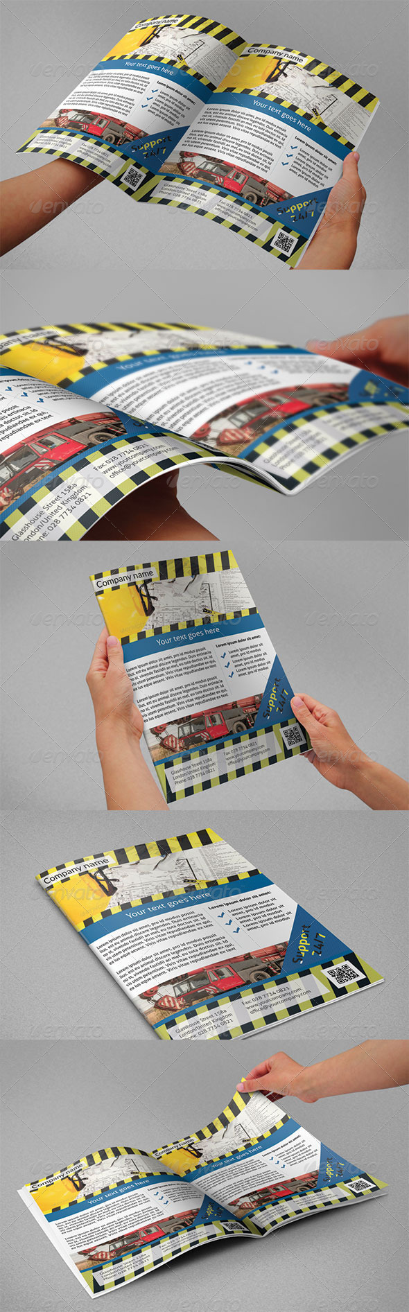 Construction Flyers - Corporate Flyers
