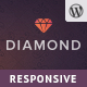 Diamond — Responsive WooCommerce Theme Nulled