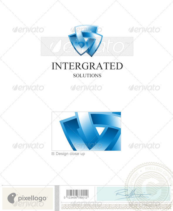 Technology Logo - 1197 - Vector Abstract