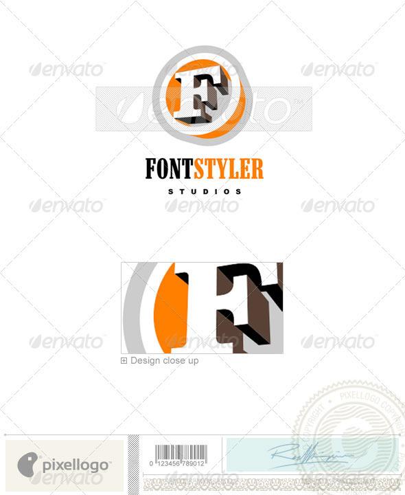 Print & Design Logo - 485 - Letters Logo Templates