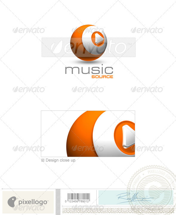 Activities & Leisure Logo - 3D-245 - 3d Abstract