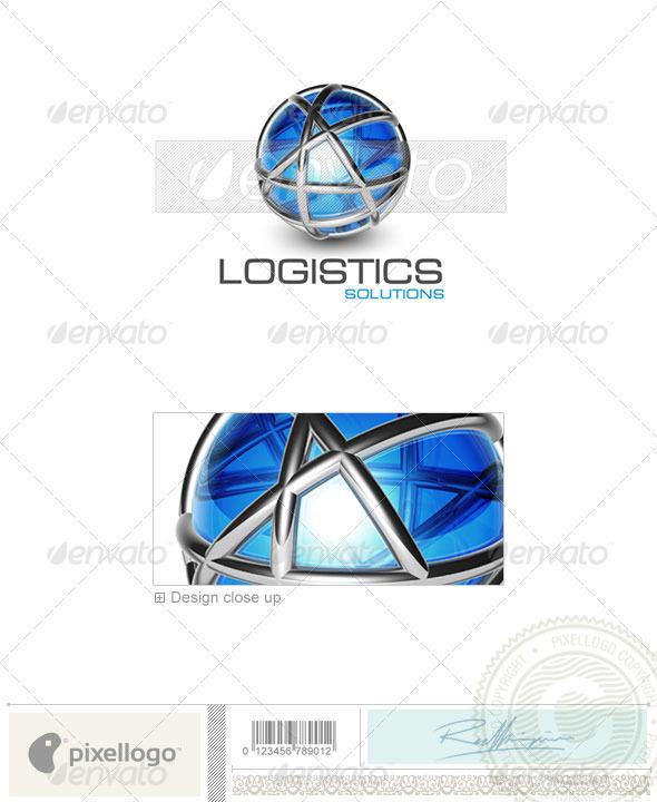 Communications Logo - 3D-474 - 3d Abstract