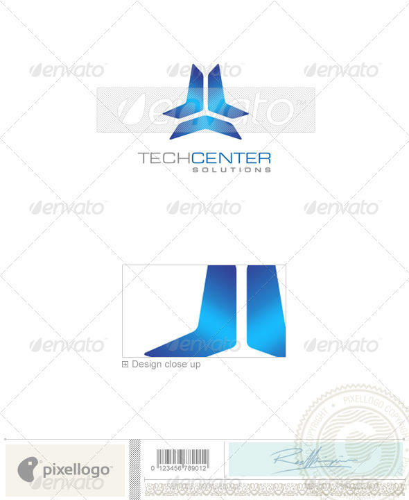 Business & Finance Logo - 1078 - Vector Abstract