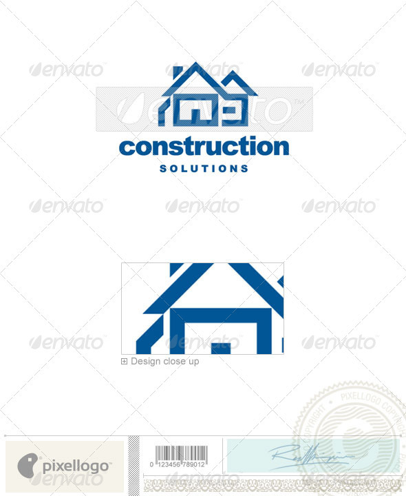 Home & Office Logo - 201 - Buildings Logo Templates