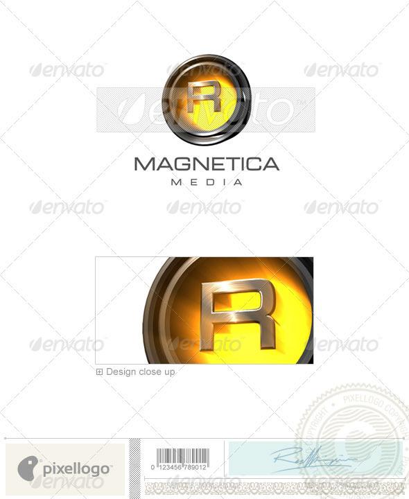 R Logo - 3D-238-R - Letters Logo Templates