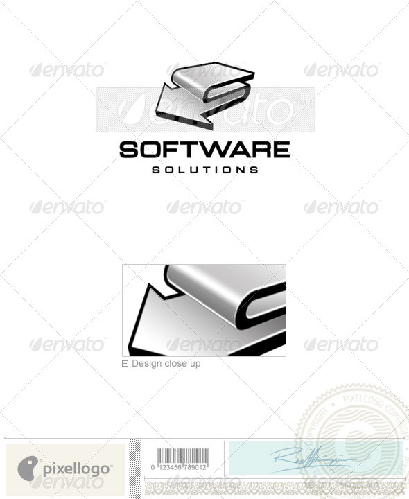 Technology Logo - 198 - Vector Abstract