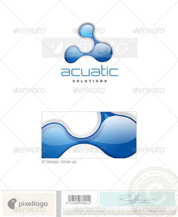 Nature & Animals Logo - 3D-123 - Nature Logo Templates