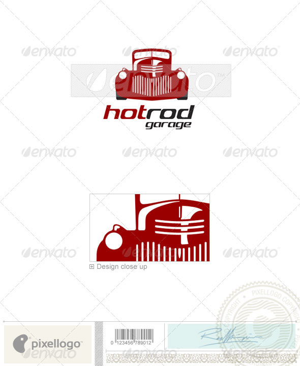 Transport Logo - 1455 - Objects Logo Templates