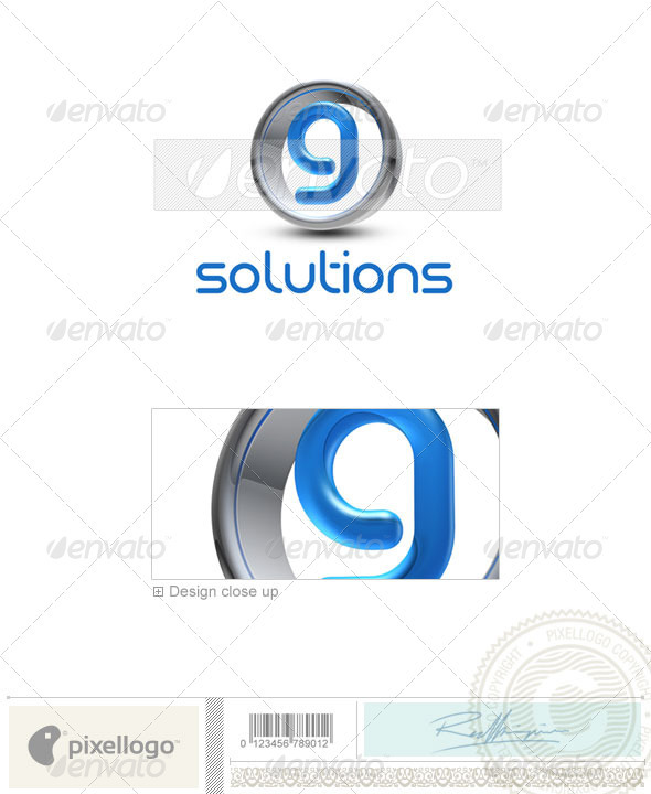 G Logo - 3D-288-G - Letters Logo Templates